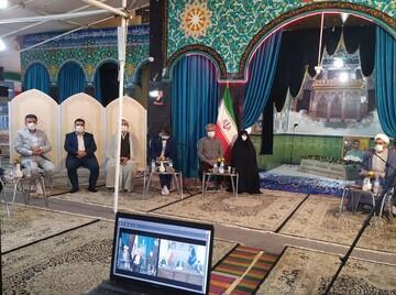 برنامه ای متفاوت در کنار تربت پاک شهید حججی