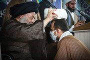 آیین عمامهگذاری طلاب مدرسه علمیه الغدیر اهواز