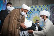دونفر از طلاب خوزستانی معمم میشوند
