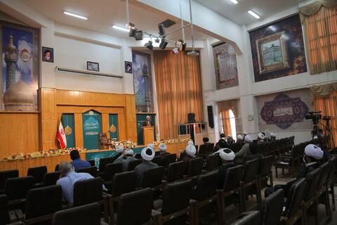 تصاویر/ مراسم تودیع و معارفه مدیر موسسه مجمع الفکر الاسلامی