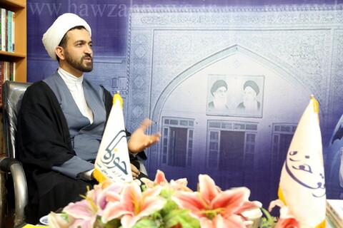 مصاحبه/ حجت الاسلام والمسلمین معلی مرکز راهبری اقتصاد مقاومتی حوزه