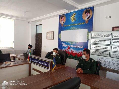 نشست خبری فرمانده ناحیه احمد بن موسی(ع) شیراز