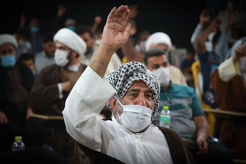 تصاویر/ آیین عمامهگذاری طلاب مدرسه علمیه الغدیر اهواز