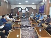 تصاویر/ تجلیل امام جمعه آران وربیدگل  ازرخبرنگاران