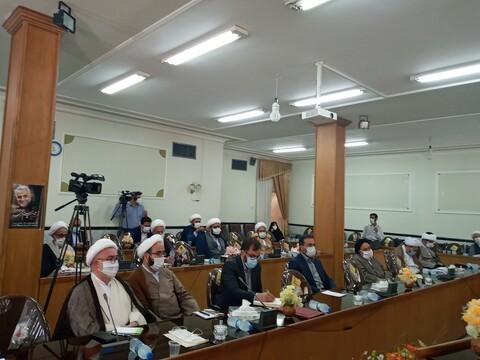 تصاویر/ آیین تکریم و معارفه مدیر شورای سیاستگذاری ائمه جمعه سمنان
