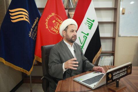 حجت الاسلام والمسلمین ایمن عبدالخالق از کشور مصر