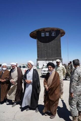 تصاویر/ بازدید نماینده ولی فقیه در آذربایجان غربی از مناطق مرزی قندیل