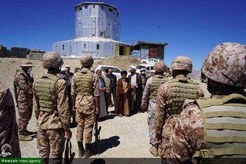 بالصور/ ممثل الولي الفقيه في محافظة أذربيجان الغربية يتفقد مناطق قنديل الحدودية