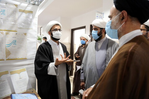 تصاویر/ بازدید حجت الاسلام والمسلمین برته از دست آوردهای معاونت آموزش حوزه