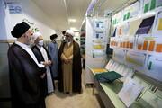 تصاویر/ بازدید آیت الله غروی از نمایشگاه دستآوردهای معاونت آموزش حوزه