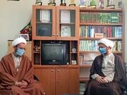 تبریک مدیر حوزه علمیه خواهران استان سمنان به رستمیان