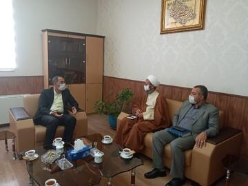 مدیر حوزه علمیه سمنان با مسئولان قضائی استان دیدار کرد