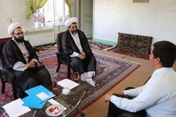 برگزاری مصاحبه داوطلبان ورودی حوزه علمیه بناب