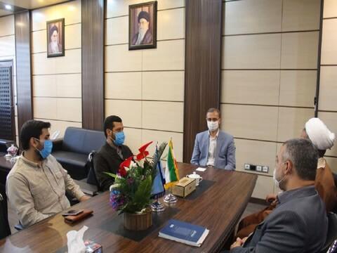 تصاویر/ دیدار مدیر حوزه علمیه سمنان با مسئولان قضائی استان