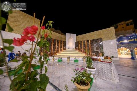 افتتاح نافورة نموذجية في صحن الرسول الأعظم (ص) خدمة لزائري المرقد العلوي الطاهر