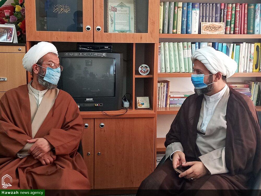 تصاویر/ دیدار مدیر حوزه علمیه سمنان با مدیر جدید حوزه خواهران استان