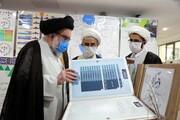 تصاویر/ بازدید آیت الله خاتمی از نمایشگاه دستآوردهای معاونت آموزش حوزههای علمیه