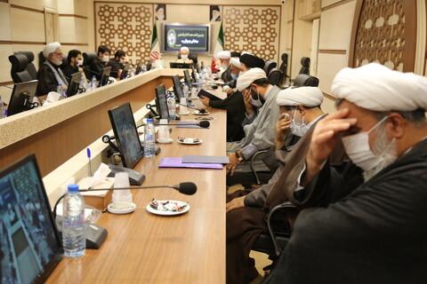مراسم بزرگداشت مرحوم حجت الاسلام والمسلمین سیدعباس موسویان در مرکز مدیریت حوزههای علمیه