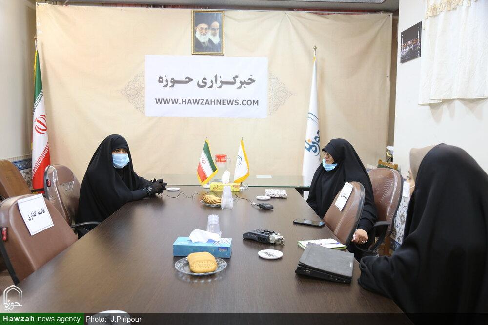 نشست بانوان طلبه جهادگر در خبرگزاری حوزه