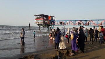 سواحل مازندران محلی برای بی بندوباری خوشگذران ها