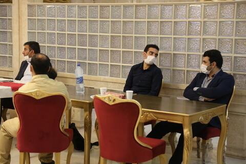 تصاویر/ تجلیل از فعالان قرارگاه رسانه ای مبارزه با کرونا