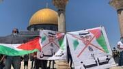 غاصب دشمن کے خلاف ہمہ گیر جنگ کے سوا کوئی چارہ نہیں،فلسطینی رہنما