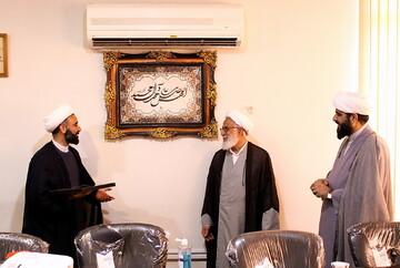 تصاویر/ بازدید مدیر حوزه علمیه خواهران بوشهر از خبرگزاری حوزه