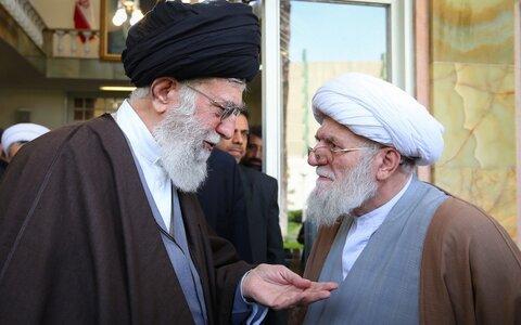 الإمام الخامنئي وسماحة الشيخ محمد علي التسخيري