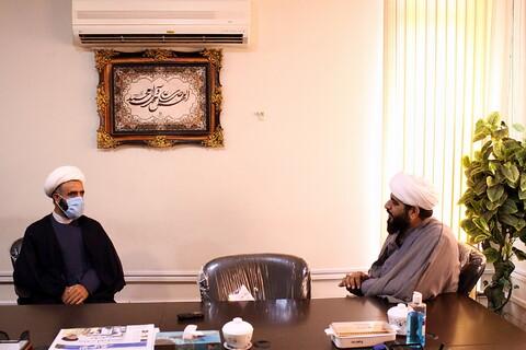 بازدید مدیر حوزه علمیه خواهران بوشهر از خبرگزاری حوزه