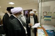 تصاویر/ بازدید رئیس جامعة المصطفی العالمیه از نمایشگاه دستاوردهای معاونت آموزش حوزه