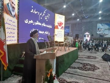 تصاویر/ مراسم تکریم و معارفه نماینده ولیفقیه و امام جمعه کاشان