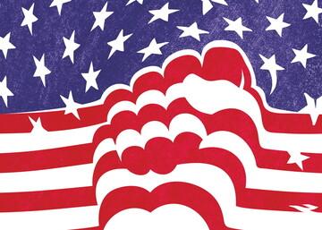 عکس نوشت | آمریکا علیه آمریکا