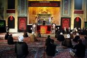 تصاویر/  مراسم بزرگداشت مرحوم آیت الله تسخیری در مدرسه علمیه فیضیه