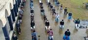 تصویر/ استقبال عزا کی پہلی مجلس شرنیا کربلا ۲۴ پرگنہ ویسٹ بنگال ہندوستان