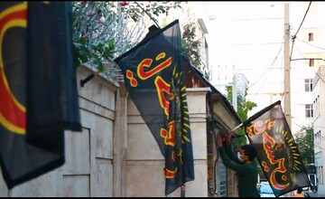 فیلم | اقدام زیبای بسیجیها در محله میدان حر