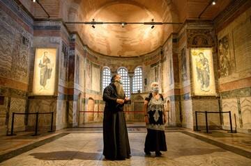 Istanbul's Kariye museum regains original mosque status