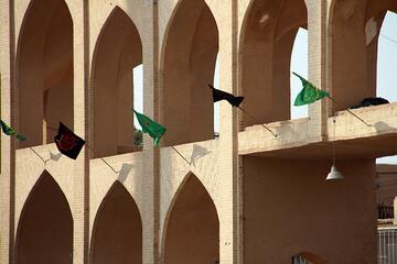 تصاویر/ سیاهپوشی یزد برای عزای سیدالشهدا (ع)