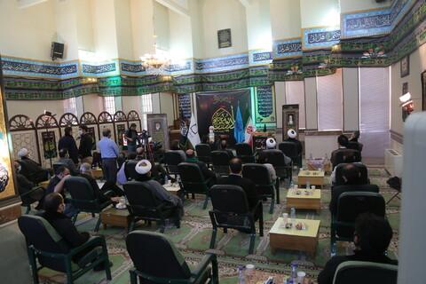 مراسم آغاز به کار رادیو محرم با حضور آیت الله اعرافی