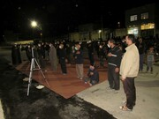تصاویر/ مراسم عزاداری شب دوم محرم در شهر «توپ آغاج» شهرستان بیجار