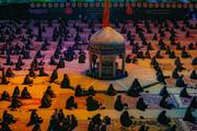 فیلم| عزاداری اباعبدالحسین (ع) در هیئت انصار ولایت یزد