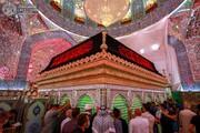 تصاویر/ حالوهوای حرم حضرت امیرالمؤمنین(ع) در ماه محرم