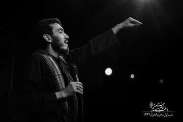فیلم | زمینه زیبای مهدی رسولی شب اول محرم ۹۹