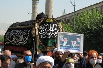 تصاویر/ تشییع پیکر مرحوم آیت الله سید عبدالجواد علمالهدی در تهران