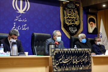تصاویر/ نشست خبری استاندار قم بمناسبت هفته دولت