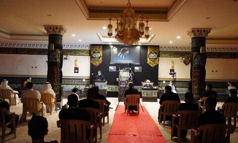مراسم عزاداری امام حسین (ع)  در قطیف عربستان