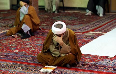مراسم عزاداری اباعبدالله الحسین(ع) در بیوت مراجع و علما