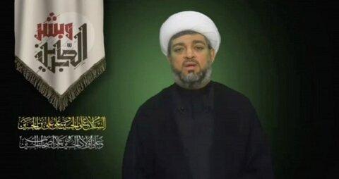 شیخ حسین الدیهی معاون دبیرکل جمعیت وفاق ملّی ا سلامی بحرین