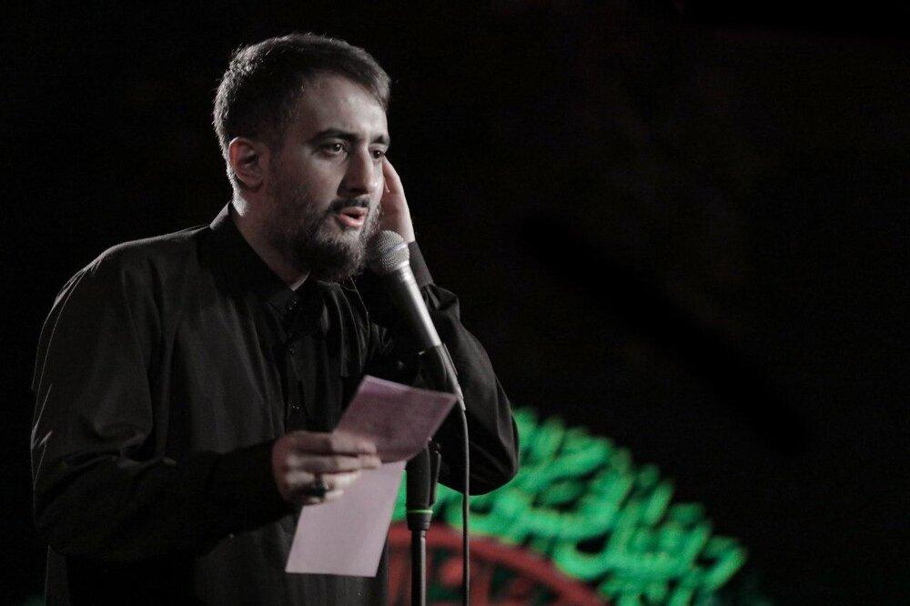 صوت | مداحی شب هفتم محرم ۹۹ با نوای محمدحسین پویانفر