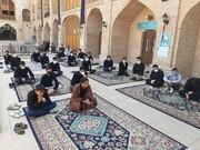 تصاویر/ آغاز طرح میثاق طلبگی در مدارس علمیه قزوین