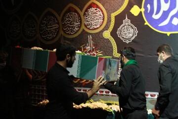 هیئت رزمندگان ثارالله همدان یک مهمان ویژه داشت/ بازگشت شهید نهاوندی پس از ۳۴ سال